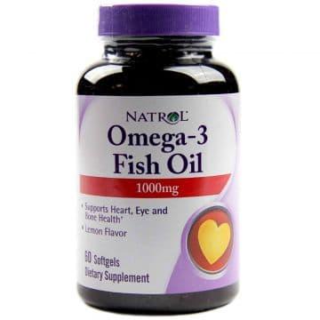 Omega-3 Fish Oil 60 капс. Natrol