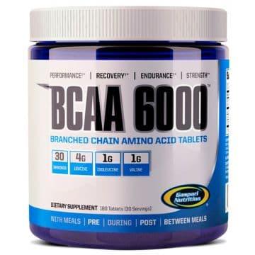 BCAA 6000 4:1:1 180 табл. Gaspari Nutrition