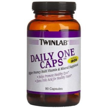 Twinlab Daily One Caps Without Iron 90 к