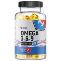 Omega 3-6-9 90 капсул Fitness Formula