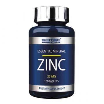 ZINC 25 мг 100 табл. Scitec Nutrition