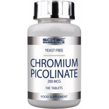 Chromium Picolinate 200mcg 100 табл. Scitec Nutrition