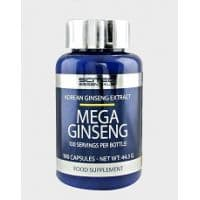 Mega Ginseng 100 капс. Scitec Nutrition