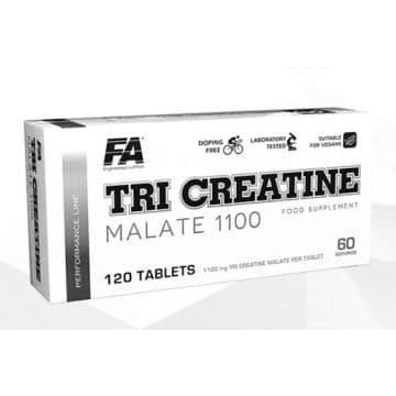 Tri-creatine malate 1100 4x30 табл. Fitness Authority