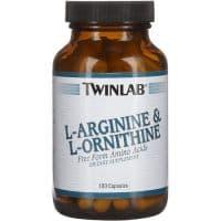 L-Arginine + L-Ornitine (Л-Аргинин и Л-Орнитин) 100 к Twinlab