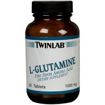 L-Glutamine 1000 mg tabs (Л-Глютамин) 50 т Twinlab