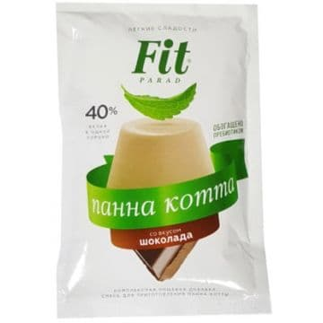 """Смесь для приготовления панна котты """"Шоколад"""" 50 г (пакет-саше) Fit-Parad"""
