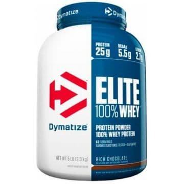 ELITE 100% Whey Protein 2275 грамм Dymatize