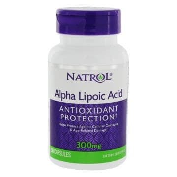 Alpha Lipoic Acid 300 мг 50 капс. Natrol