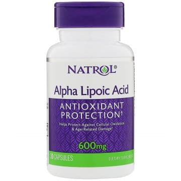 Alpha Lipoic Acid 600 мг 30 капс. Natrol