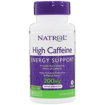 High Caffeine 200 мг 100 табл. Natrol