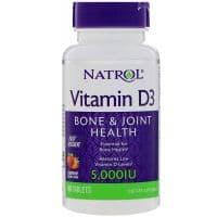 Vitamin D3 5,000 IU Fast Dissolve 90 таблеток Natrol