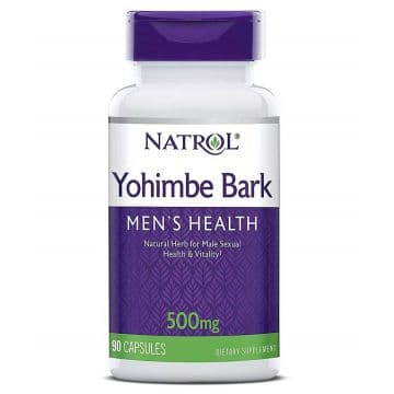 Yohimbe Bark 500mg 90 капсул Natrol