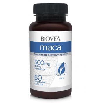 MACA (Organic) 500mg 60 капс. BIOVEA