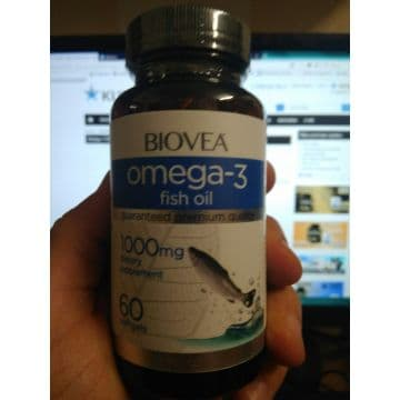Omega-3 1000 mg (No lemon oil) 60 жидких капс. BIOVEA