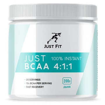 JUST BCAA 4:1:1 200 г JUST FIT