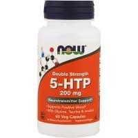 5-HTP 200 мг (5-гидрокситриптофан) 60 вег. капсул NOW
