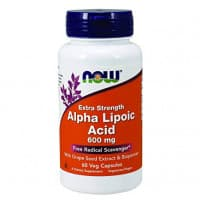 Alpha Lipoic Acid 600 мг 60 вег. капсул NOW