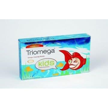 TRIOMEGA (омега-3 для детей в капсулах с фруктовым вкусом) 60 капсул