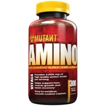 Аминокислотный комплекс Mutant Amino (300 таблеток)