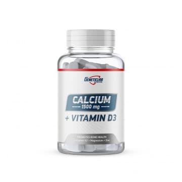 CALCIUM + vitamine D3 90 таблеток GENETICLAB
