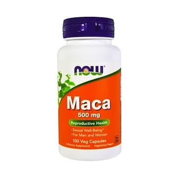 Maca 500 мг 100 вег. капс. NOW Foods