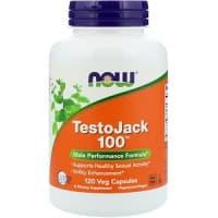 TestoJack 100 120 вег.капсул NOW Foods