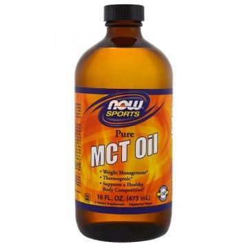 MCT Oil 473 мл NOW Foods