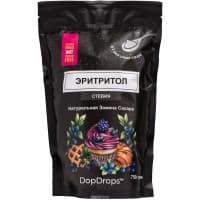 Эритритол DopDrops, 750 г в 3 раза слаще сахара со Стевией