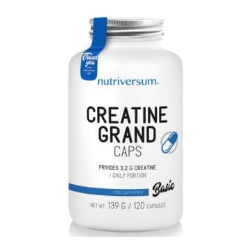 CREATINE GRAND CAPS 120 капс. Nutriversum