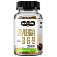 Omega 3-6-9 Complex 90 капс Maxler