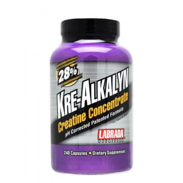 Kre-Alkalyn Creatine Concentrate 240 капс. Labrada Nutrition