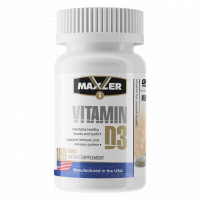 Vitamin D3 180 таблеток Maxler