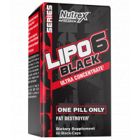 Lipo-6 black гultra concentrate 60 капсул
