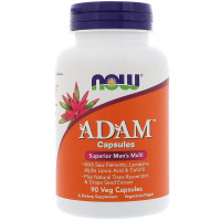ADAM Superior Men's Multi 90 веганских капсул NOW Foods