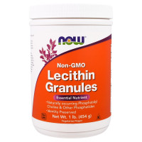 Lecithin Gran Non GMO 454 г NOW Foods