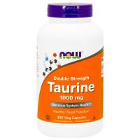 Taurine 1000 mg 250 вег. капс. NOW Foods