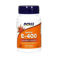 E-400 MIXED TOC 100 гел. капс. NOW Foods