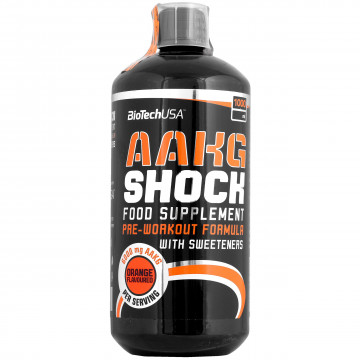 AAKG Shock Extreme 1000 мл BioTech Nutrition