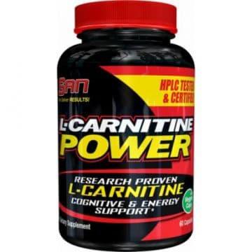 L-CARNITINE POWER (Л-карнитин) 60 капс SAN