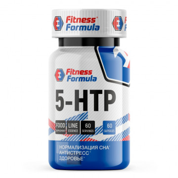 5-HTP 100 мг (5-гидрокситриптофан) 60 капсул FITNESS FORMULA