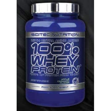 100% Whey Protein 920 г Scitec Nutrition