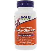 Beta-1,3/1,6-D-Glucan 90 вег. капсул NOW FOODS