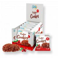 Протеиновое печенье шоколадное с клюквой 50 г Solvie