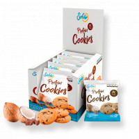 Протеиновое печенье кокосовое с шоколадными чипсами 50 г Solvie