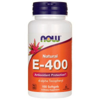 E-400 Da 100 гел капс NOW Foods
