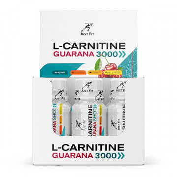 L-Carnitine + Guarana 3000 Shot 60 мл JUST FIT