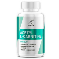 Acetyl L-Carnitine 500 мг, 75 к JUST FIT