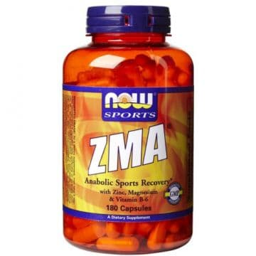 NOW ZMA 180 гелевых капсул