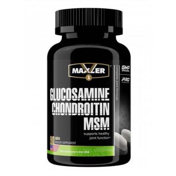 Препарат для укрепления связок и суставов Maxler Glucosamine Chondroitin MSM (90 шт.)